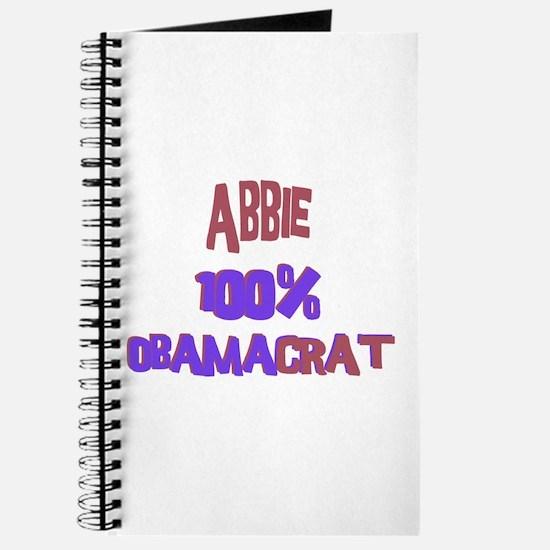 Abbie - 100% Obamacrat Journal
