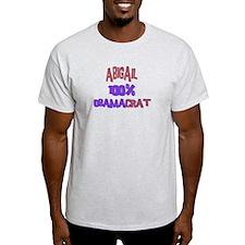 Abigail - 100% Obamacrat T-Shirt