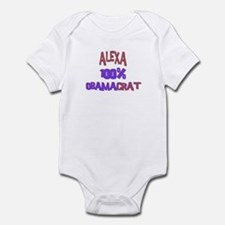 Alexa - 100% Obamacrat Infant Bodysuit