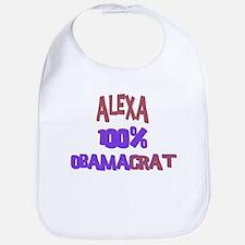 Alexa - 100% Obamacrat Bib