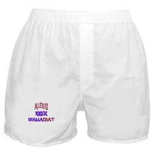 Alexis - 100% Obamacrat Boxer Shorts