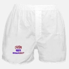 Carson - 100% Obamacrat Boxer Shorts