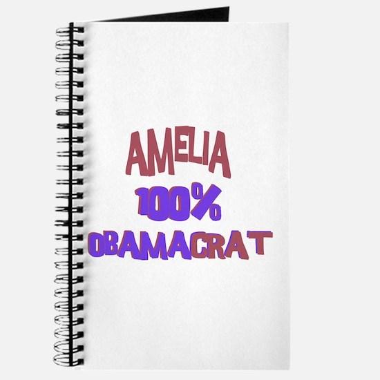 Amelia - 100% Obamacrat Journal