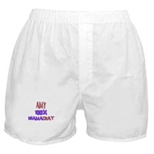 Amy - 100% Obamacrat Boxer Shorts