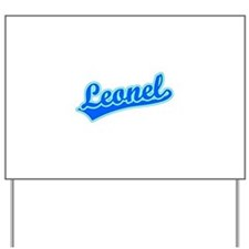 Retro Leonel (Blue) Yard Sign
