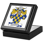 Ocampo Family Crest Keepsake Box