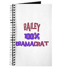 Bailey - 100% Obamacrat Journal