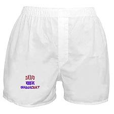 David - 100% Obamacrat Boxer Shorts