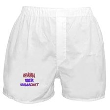 Brianna - 100% Obamacrat Boxer Shorts