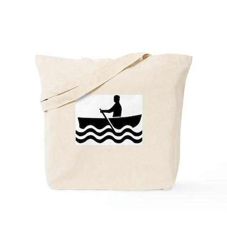 1516 Rowboat Sign Tote Bag