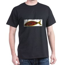 1225 Fish in Fish words T-Shirt