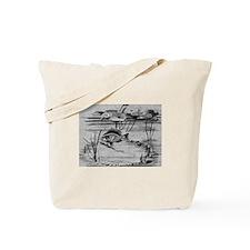 1186 Sunfish Spawing Tote Bag