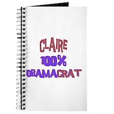 Claire - 100% Obamacrat Journal