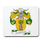 Olivares Family Crest Mousepad