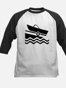 1509 Boat Ramp Kids Baseball Jersey