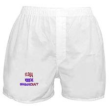 Elena - 100% Obamacrat Boxer Shorts