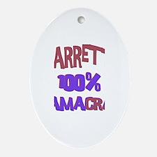 Garrett - 100% Obamacrat Oval Ornament