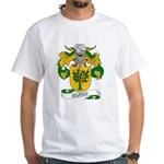 Oliver Family Crest White T-Shirt