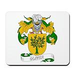 Oliver Family Crest Mousepad