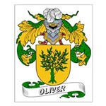 Oliver Family Crest Small Poster