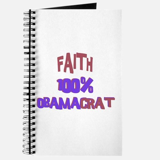 Faith - 100% Obamacrat Journal