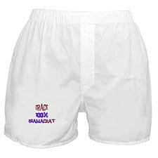 Grace - 100% Obamacrat Boxer Shorts