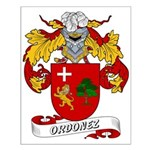 Ordonez Family Crest Small Poster