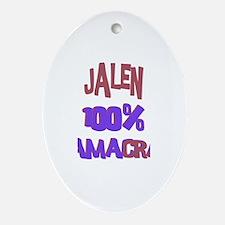 Jalen - 100% Obamacrat Oval Ornament