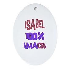 Isabel - 100% Obamacrat Oval Ornament