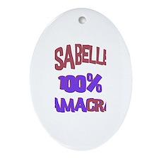 Isabelle - 100% Obamacrat Oval Ornament