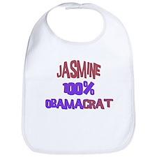 Jasmine - 100% Obamacrat Bib