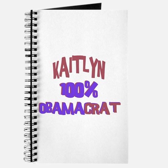 Kaitlyn - 100% Obamacrat Journal