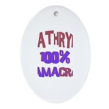 Kathryn - 100% Obamacrat Oval Ornament