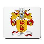 Osorio Family Crest Mousepad
