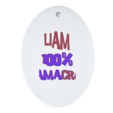 Liam - 100% Obamacrat Oval Ornament