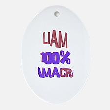 Liam - 100% Obamacrat Oval Ornament