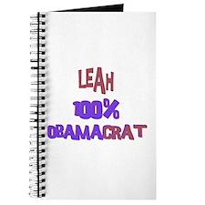 Leah - 100% Obamacrat Journal
