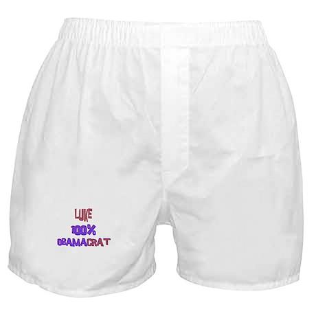 Luke - 100% Obamacrat Boxer Shorts