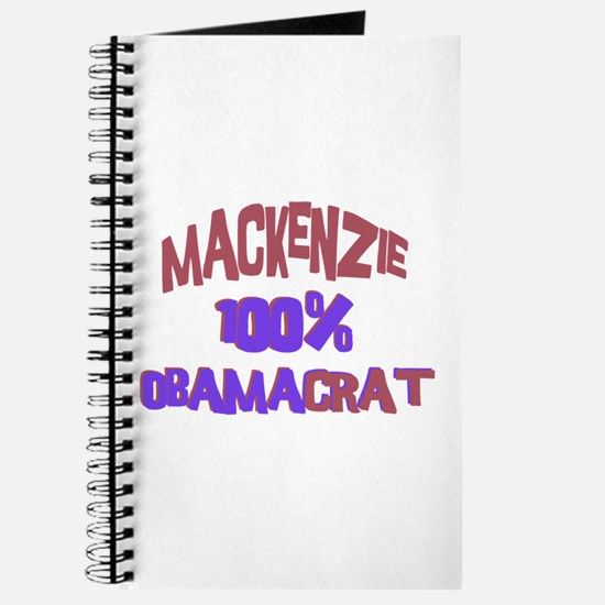 Mackenzie - 100% Obamacrat Journal