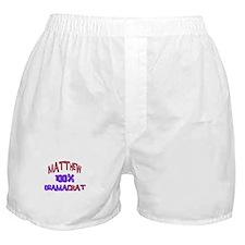 Matthew - 100% Obamacrat Boxer Shorts