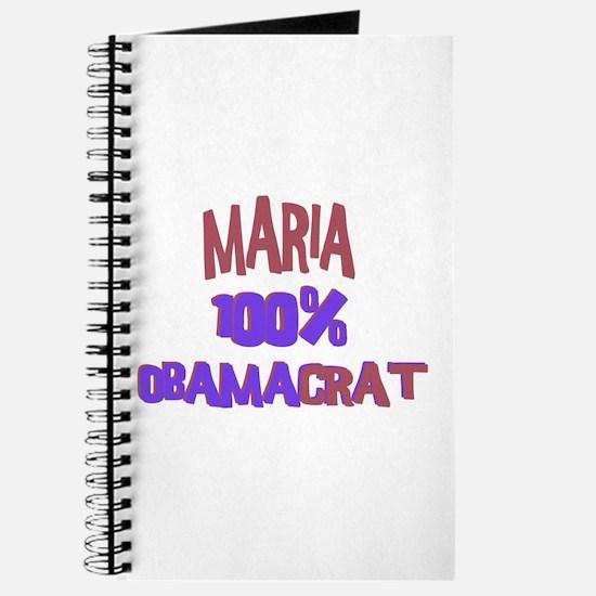 Maria - 100% Obamacrat Journal