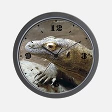 Komodo Profile Wall Clock