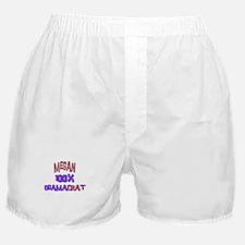 Megan - 100% Obamacrat Boxer Shorts