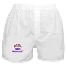 Melissa - 100% Obamacrat Boxer Shorts
