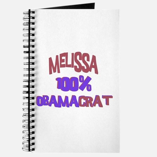 Melissa - 100% Obamacrat Journal