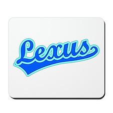 Retro Lexus (Blue) Mousepad