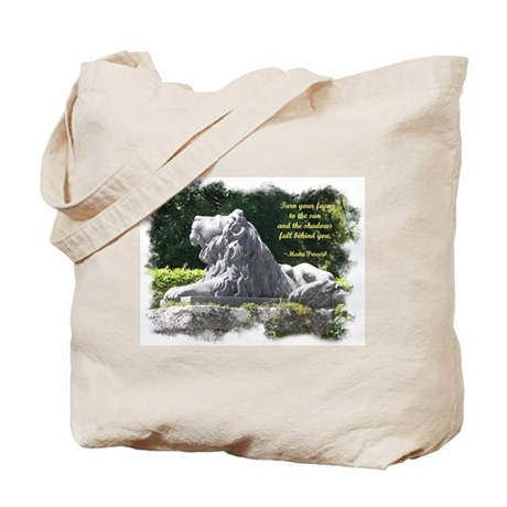 Lion in the Light Tote Bag