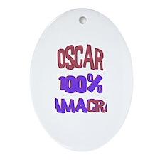 Oscar - 100% Obamacrat Oval Ornament