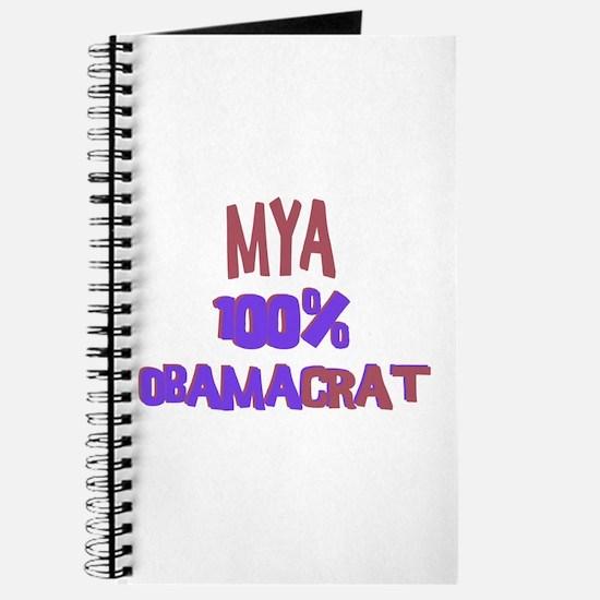 Mya - 100% Obamacrat Journal