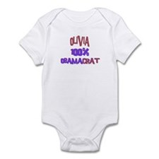 Olivia - 100% Obamacrat Infant Bodysuit